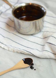 Balsamic vinegar reduction (uses only balsamic vinegar).