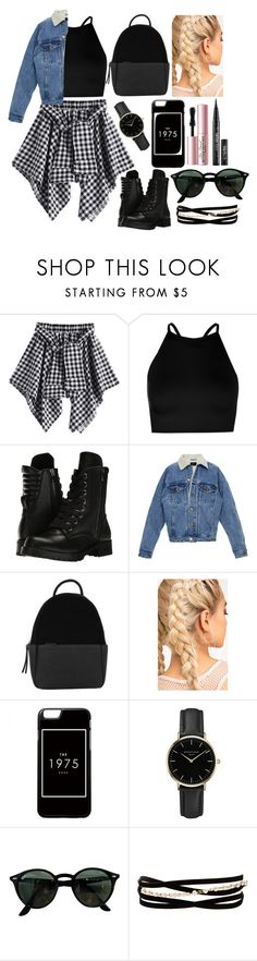 """rocker"" by yeli-dari on Polyvore featuring moda, Boohoo, Capezio, Calvin Klein, ROSEFIELD, Ray-Ban, Kenneth Jay Lane y Too Faced Cosmetics"
