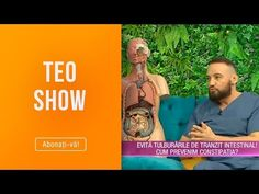 Teo Show (05.02.2019) - Constipatia, preventie si tratament! Sfatul medicului! - YouTube Youtube, Youtubers, Youtube Movies