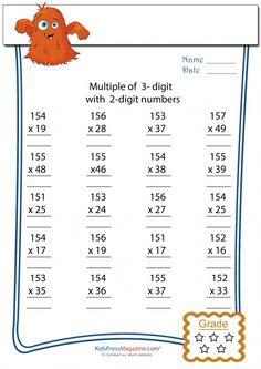 hard multiplication sheets printable multiple digit multiplication worksheets javale 39 s math. Black Bedroom Furniture Sets. Home Design Ideas