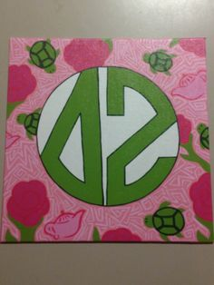 Mock Lilly canvas - so cute!