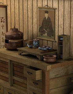 Tea House - the Chanoyu - Way of Tea set