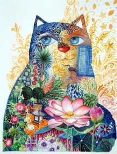 Lotus chat by oxana zaika | ArtWanted.com