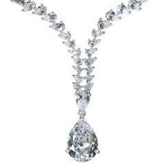 Marilyn's Vintage CZ Necklace - My Best,New Jewelry