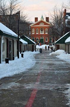 Old Town Hall (through Artists' Row) Salem, MA