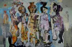 "Saatchi Art Artist Dariusz Labuzek; Painting, ""Dinner Party"" #art"