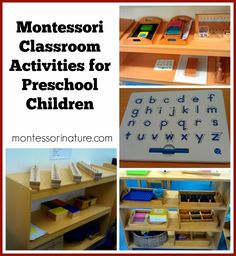 Montessori Nature: Montessori Classroom Activities for Preschool Children.
