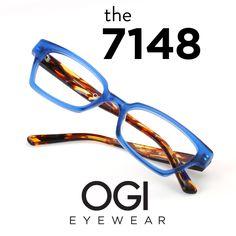 Ogi Eyewear 7148 in Blue/Blue Camouflage