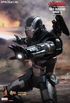 The Avengers 2: War Machine Mark II, Deluxe-Figur (voll beweglich) ... https://spaceart.de/produkte/tav026.php