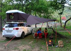 iKamper's main products are three roof top tents: Skycamp, Hardtop One, and Road Trip. iKamper car tents produce the best camping experience to campers