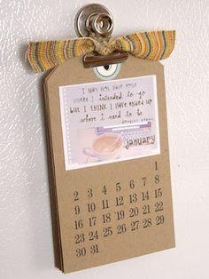 calendar idea
