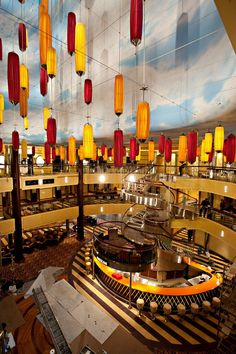 The atrium on Lido 10 of Carnival Breeze: we liked the open sky so much we brought it indoors. Cruise Travel, Cruise Vacation, Vacation Trips, Disney Cruise, Vacation Ideas, Vacations, Carnival Cruise Ships, Cruises Carnival, Bon Voyage