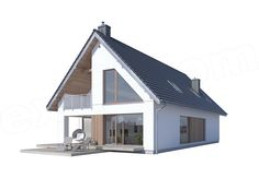 Modern Farmhouse Exterior, Modern House Design, House Plans, Outdoor Structures, Outdoor Decor, Home Decor, Crafts, Arquitetura, Rustic Homes