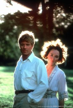 Robert Redford and Meryl Streep - Out of Africa
