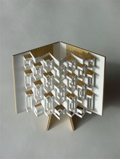 Simple engineering to create an intricate and beautiful pop-up effect.