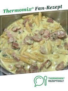 Würstchen Nudel Topf (ONE POT GERICHT) von semmeldealerin. Ein Thermomix ® Rez… Sausages Noodle Pot (ONE POT COURT) by semmeldealerin. A Thermomix ® recipe from the main meat with meat category www.de, the Thermomix® Community. Spaghetti Recipes, Pasta Recipes, Chicken Recipes, One Pot Dishes, Food Dishes, Rice Dishes, Pasta Dishes, Sausage Recipes, Crockpot Recipes