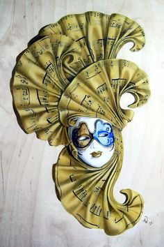 Carnival mask by gunman on DeviantArt Venetian Masquerade, Venetian Masks, Mardi Gras, Diy Projects Arts And Crafts, Venice Mask, Tiki Mask, Masks Art, Mask Making, Wow Products