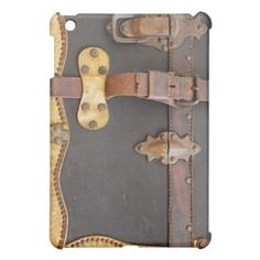 Steampunk Luggage Cover For The iPad Mini
