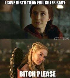 Melisandre vs. Cersei Lannister ~ Game of Thrones