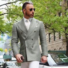 I understand & wish to continue - HerrenMode Mens Fashion Suits, Mens Suits, Fashion Outfits, Traje A Rigor, Mens Attire, Jackett, Suit And Tie, Well Dressed Men, Gentleman Style
