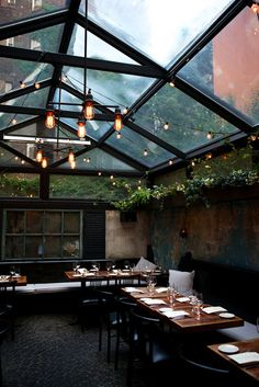 August Restaurant In West Village New York Maar Niet Zeker Of Je Altijd