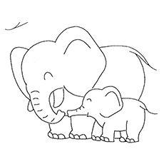 Okul öncesi şirin Hayvan Resimleri Boyama şablonlari Yavrularımız