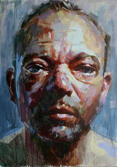 Maurent Dauptain autoportrait 162 X 114 2010