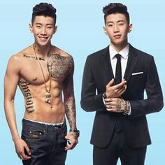 Jay Park - Men's Health Magazine March Issue Handsome in a suit Sexy shirtless Jay Park, Park Jaebeom, Jaebum, Asian Boys, Asian Men, Btob, Rapper, Chica Cool, Susanoo