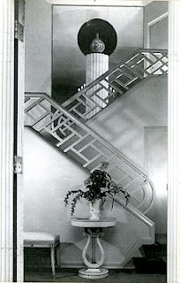 Art Deco inspiration from the 1930's. This house is absolutely gorgeous.