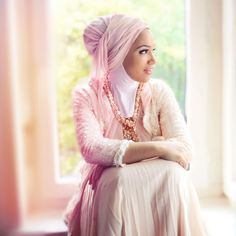 Hijab beauty  #Hijab #Muslimah #Headwraps