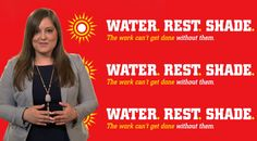 VIDEO: #OSHA gives tips on how to work safely in the summer #heat