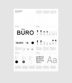 Büro System branding for theater Corporate Design, Brand Identity Design, Graphic Design Branding, Brochure Design, Logo Guidelines, Design Guidelines, Brand Guidlines, Title Block, Brand Manual