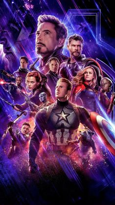 Details about Avengers End Game Poster Main Characters Marvel Movie Film Print - Phone Wallpaper Captain Marvel, Marvel Avengers, Hero Marvel, Captain America, Avengers Movies, The Avengers Assemble, Hawkeye Marvel, Films Cinema, Cinema Posters