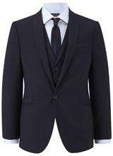 "Nick Hart Navy Melange Jacket from ""Austin Reed"", Purchase on discounted price using coupon codes and promotional codes."