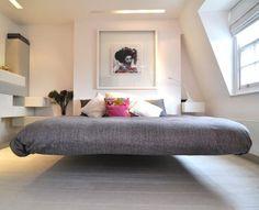 Floating Bed Frame//