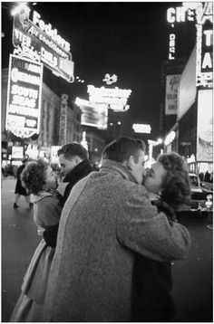 New York City, New Year's Photograph by Henri Cartier-Bresson/Magnum.
