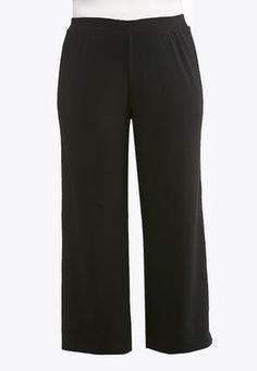 ca0f3341f80 Cato Fashions Plus Size Button Hem Palazzo Pants  CatoFashions Cato Fashion  Plus Size
