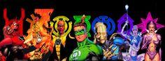 green lantern universe