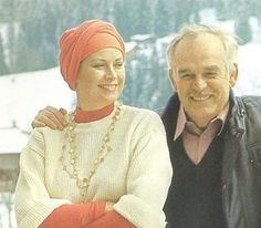 Princess Grace and Prince Rainier.  Doses of Grace