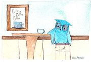 Elissa Nesheim - Coffee Shop Owls - Long...