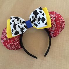 Toy Story 2 - Jessie inspired Minnie Mouse Disney Ears