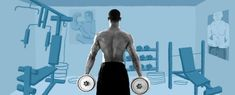 This Oft-Neglected Muscle Is Your Key to Looking Fit Best Trap Workouts: Trapezius Exercises For Regular Guys Traps Muscle Workout, Traps Workout At Home, At Home Workouts, Dumbbell Arm Workout, 300 Workout, Workout Motivation Music, Workout Music, Quad Exercises, Knee Exercises