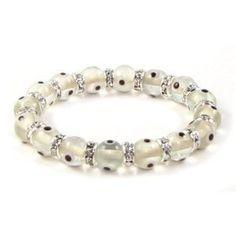 Bling Jewelry Evil Eye Beads 10mm White Stretch Swarovski Crystal Bracelet 7.5 Inch Bling Jewelry, http://www.amazon.com/dp/B0043JT85W/ref=cm_sw_r_pi_dp_-wccrb1A60M1D
