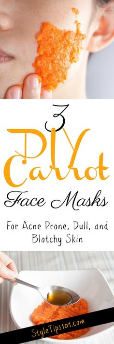 DIY Carrot Face Mask