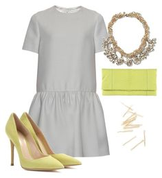 """""""simple Valentino"""" by jmonroe0817 on Polyvore featuring Valentino, Gianvito Rossi, women's clothing, women, female, woman, misses and juniors"""