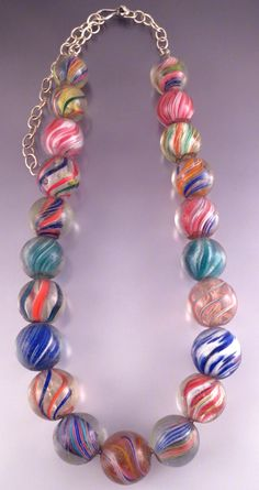 Antique German Swirl marble beads Glass Marbles, Glass Beads, Different Forms Of Art, African Trade Beads, Glass Artwork, Emeralds, Keepsakes, Lampwork Beads, How To Make Beads