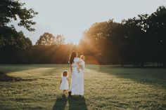 Memphis Wedding Photographer | Mommy and Me session | Sunset Session | Family Session