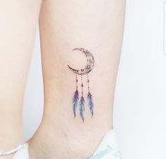 Moon dream catcher tattoo – tattoos for women small Tattoos For Kids, Little Tattoos, Mini Tattoos, Tattoos For Women Small, Body Art Tattoos, Small Tattoos, Delicate Tattoos For Women, Tattoo Kids, Pretty Tattoos