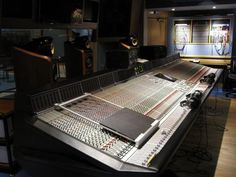 Abbey Road Studios. Main console. The Beatles and Pink Floyd made magic here.