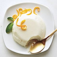 Meyer Lemon Panna Cotta. Meyers are sweeter than conventional lemons, but if you don't have access to Meyers, use a regular lemon and enjoy a dessert that's just a bit more tart.